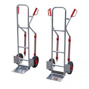 Carrello manuale convertibile in alluminio GL200A / GL200B