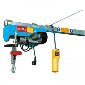 Mini paranco elettrico MB200, paranco a leva elettrico
